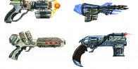 Futuristic Guns Sketches