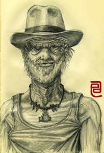 Selfportrait as an Old Man